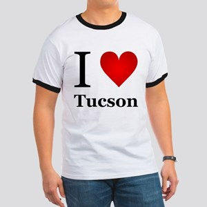 I Love Tucson Ringer T