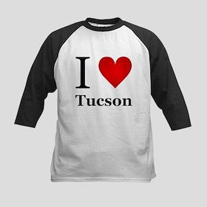 I Love Tucson Kids Baseball Jersey