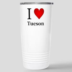 I Love Tucson Stainless Steel Travel Mug