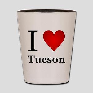 I Love Tucson Shot Glass