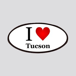 I Love Tucson Patches