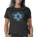 heartisraelblack Women's Classic T-Shirt