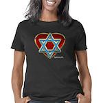 heartisraelredblack Women's Classic T-Shirt