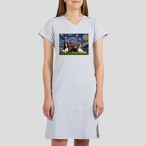 Starry / 4 Cavaliers Women's Nightshirt