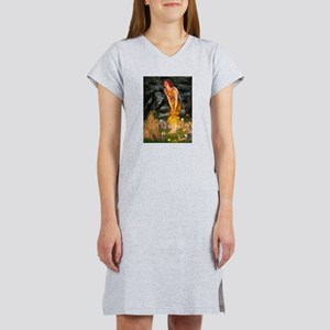 Fairies / Shar Pei Women's Nightshirt