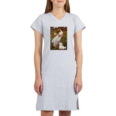 Windflowers / Coton Women's Nightshirt