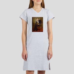 Lincoln's Dachshund Women's Nightshirt