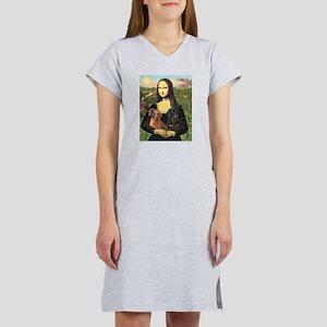 Mona Lisa's Dachshunds Women's Nightshirt
