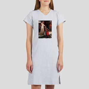 Princess & Doxie Pair Women's Nightshirt