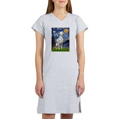 Starry /Dalmatian Women's Nightshirt