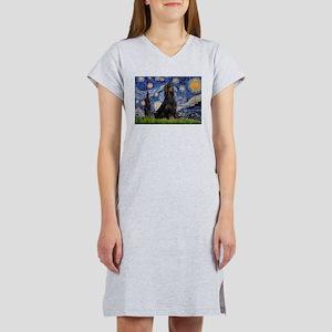 Starry Night & Gordon Women's Nightshirt