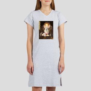 Queen / Havanese Women's Nightshirt