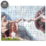 Creation & Basset Puzzle