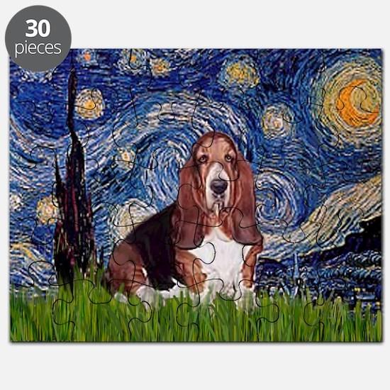 Starry / Basset Hound Puzzle