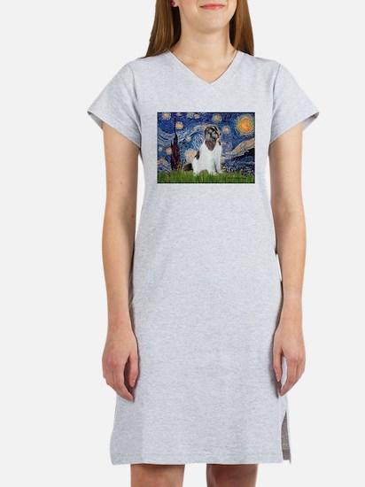 Starry Night / Landseer Women's Nightshirt