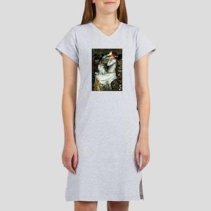 Ophelia / Pomeranian (p) Women's Nightshirt