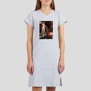 Accolade/4 Pomeranians Women's Nightshirt