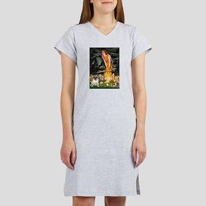 Fairies & Pug Women's Nightshirt