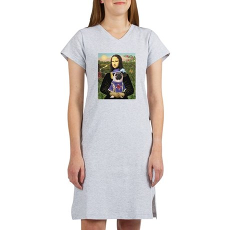 Mona & Sir Pug Women's Nightshirt