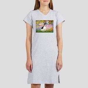 Garden / Rat Terrier Women's Nightshirt