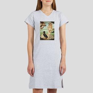 Venus & Rottweiler Women's Nightshirt
