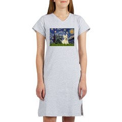 Starry /Scotty pair Women's Nightshirt