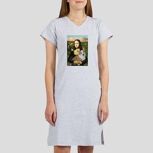 Mona - Corgi (Pembr-L) Women's Nightshirt