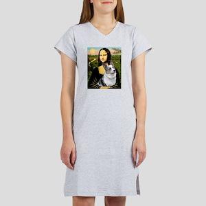 Mona's Corgi (Bl.M) Women's Nightshirt