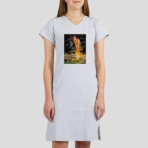 Midsummer / Yorkie Women's Nightshirt