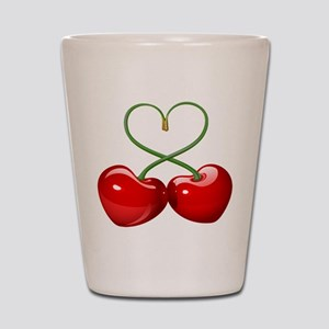 Cherry Love Shot Glass