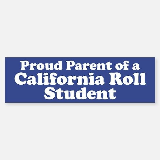 California Roll Student Sticker (Bumper)