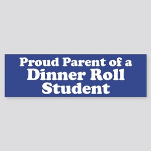 Dinner Roll Student Sticker (Bumper)