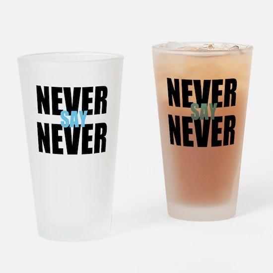 neversaynever Drinking Glass