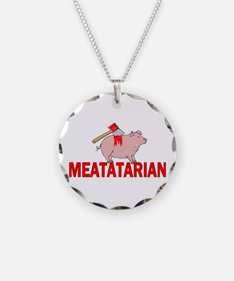 Meatatarian Necklace
