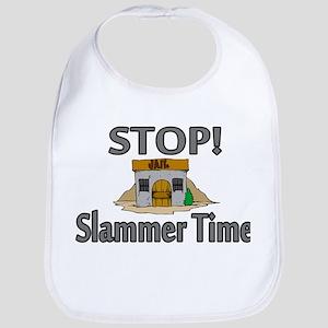 Stop Slammer Time Bib
