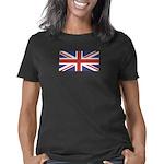 unionjack_blk Women's Classic T-Shirt