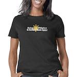 beinghalffilipino_CPDark Women's Classic T-Shirt