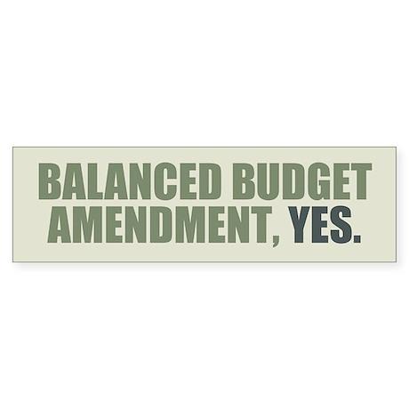 balanced budget amendment The house of representatives failed to pass a balanced budget amendment to the us constitution on thursday (sabrina eaton, clevelandcom).