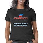Conservative 3rd d Women's Classic T-Shirt