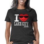 I LOVE LAKE CITY Women's Classic T-Shirt