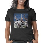 Pelicans on Rock Women's Classic T-Shirt