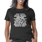 12x12_think_dark Women's Classic T-Shirt