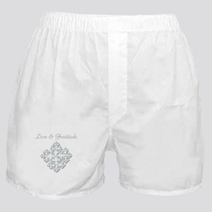 LOVE & GRATITUDE Boxer Shorts