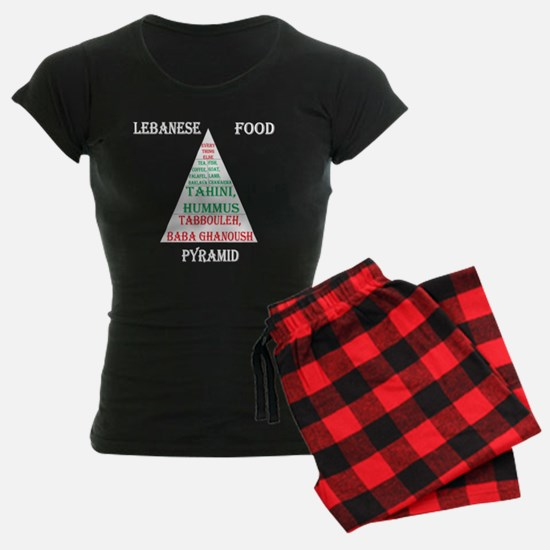 Lebanese Food Pyramid Pajamas