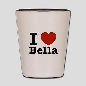I love Bella Shot Glass