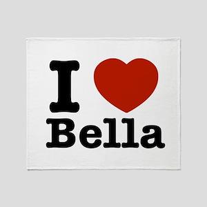 I love Bella Throw Blanket