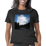 Eel River With Clouds Women's Classic T-Shirt