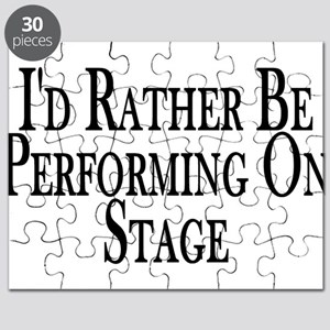 Rather Perform On Stage Puzzle