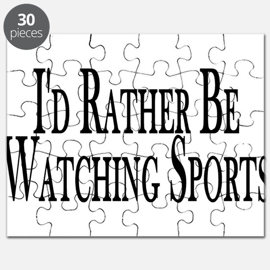 Rather Watch Sports Puzzle