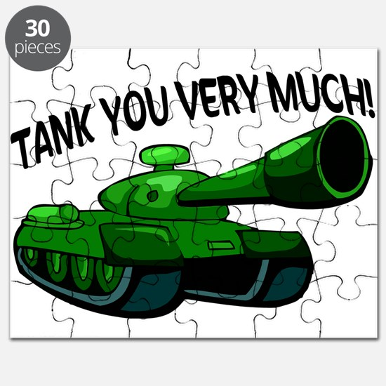 Tank You Very Much Puzzle